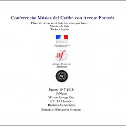 Música del Caribe con Acento Francés