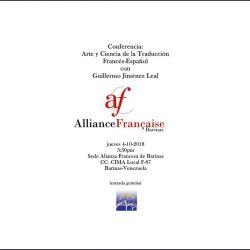 Conferencia: arte y ciencia de la traducción