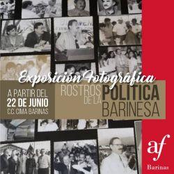 """Exposición fotográfica: """"Rostros de la Política Barinesa"""""""