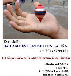 """Exposición: """"Baílame ese Trompo en la Uña"""" de Felix Gerardi"""