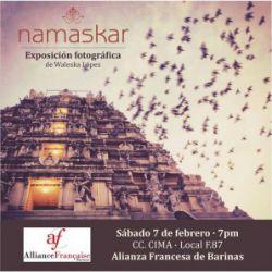 """Exposition: """"namaskar"""" de Waleska López"""
