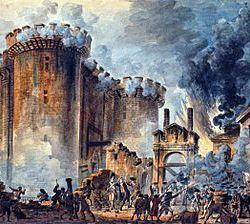 La Prise de la Bastille / La Toma de la Bastilla