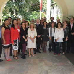 Réunion des Alliances Françaises du Venezuela et l'Ambassade de France
