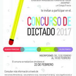 CONCOURS DE DICTÉE –22 MARS 2017