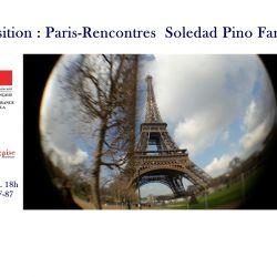 Exposition : Paris-Reencontres Soledad Pino Fargier 24-3-2017