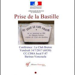 la Prise de la Bastille: Conférence