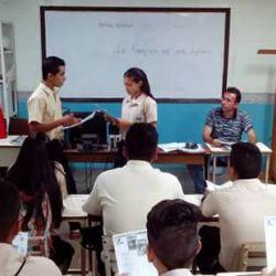 Le programme « Le Français va aux lycées » à Barinas