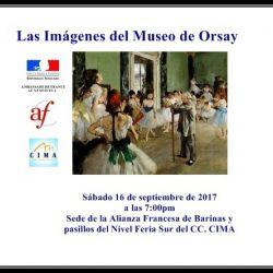 Las Imágenes del Museo de Orsay en Barinas-Venezuela